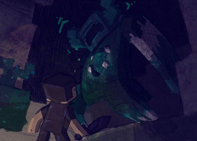 Minecraft 1.18 Depp Dark Biome